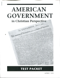 American Government - CLP Tests