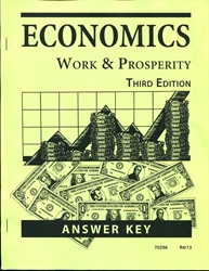 Economics: Work and Prosperity - CLP Answer Key