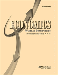 Economics: Work and Prosperity - Answer Key