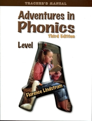 Adventures in Phonics Level A - Teacher Manual