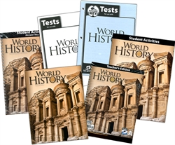 BJU World History - Home School Kit
