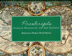 Prescripts Cursive Sentences and Art Lessons: Medieval to Modern World History