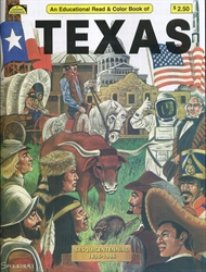 Texas - Coloring Book