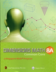 Dimensions Math 8A - Textbook