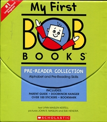 My First Bob Books: Pre-Reader Collection Alphabet and Pre-Reading Skills