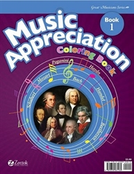 Music Appreciation - Coloring Book