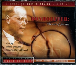 Bonhoeffer: The Cost of Freedom - Audio Drama (CD)