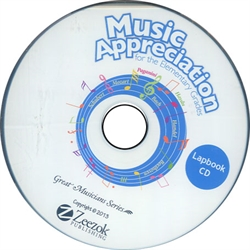 Music Appreciation 1 - Lapbook Disc