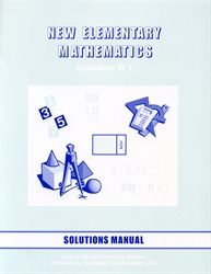 New Elementary Mathematics 1 - Solutions Manual