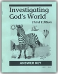 Investigating God's World - CLP Answer Key (old)