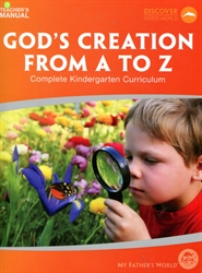 MFW God's Creation from A to Z - Teacher Guide