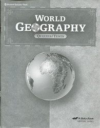 World Geography - Test/Quiz Book