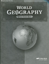 World Geography - Test/Quiz Key