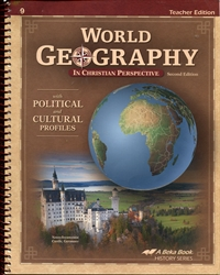 World Geography in Christian Perspective - Teacher Edition