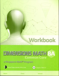 Dimensions Math 8A - Workbook