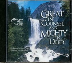 Sing the Word: Great in Counsel and Mighty in Deed - CD