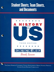 History of US Book 7 - Workbook