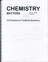 Chemistry Matters - Textbook Solutions