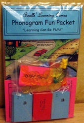 Beall's Learning Games Phonogram Fun Packet