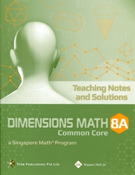 Dimensions Math 8A - Teaching Notes and Solutions