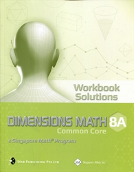 Dimensions Math 8A - Workbook Solutions