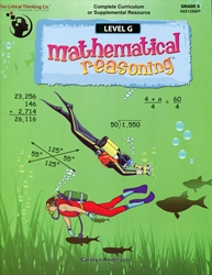 Mathematical Reasoning Level G