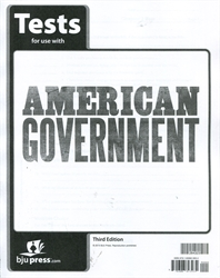American Government - Tests