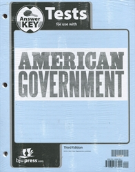 American Government - Tests Answer Key