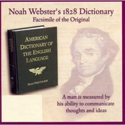 Noah Webster's 1828 Dictionary - CD-ROM