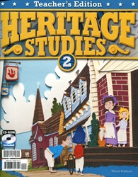 Heritage Studies 2 - Teacher Edition w/CD