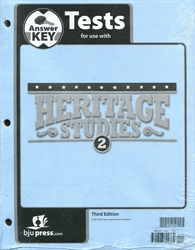 Heritage Studies 2 - Test Answer Key