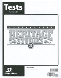 Heritage Studies 3 - Tests