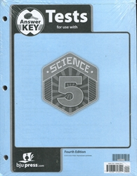 Science 5 - Test Answer Key