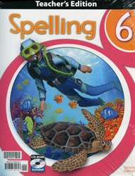 Spelling 6 - Teacher Edition & CD