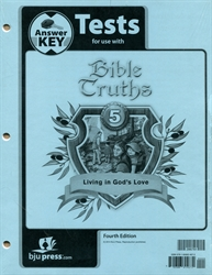 Bible Truths 5 - Test Answer Key