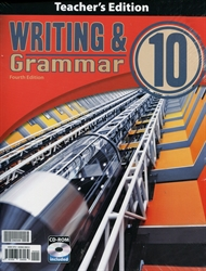Writing & Grammar 10 - Teacher Edition