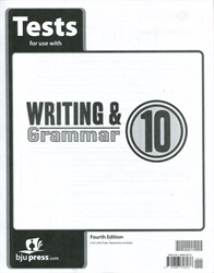 Writing & Grammar 10 - Tests