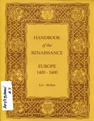 Handbook of the Renaissance: Europe 1400-1600