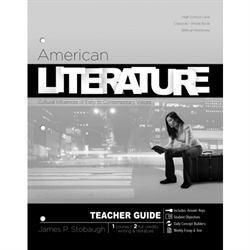 American Literature - Teacher Edition