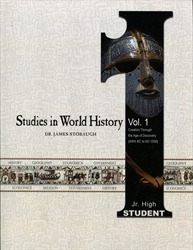 Studies in World History Volume 1 - Student Edition