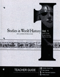 Studies in World History Volume 1 - Teacher Guide