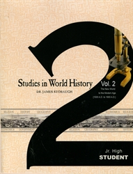 Studies in World History Volume 2 - Student Edition