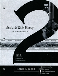 Studies in World History Volume 2 - Teacher Edition