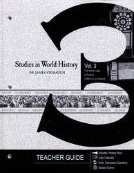 Studies in World History Volume 3 - Teacher Edition