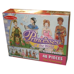 Princesses of the World Floor Puzzle