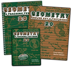 Teaching Textbooks Geometry - Complete Set