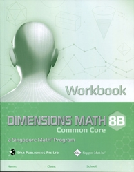 Dimensions Math 8B - Workbook