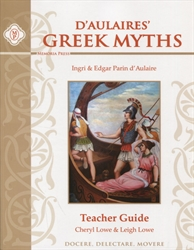 D'Aulaires' Greek Myths - Teacher Guide (old)