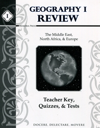 Memoria Press Geography I - Review Teacher's Key