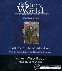 Story of the World Volume 2 - Audio CD